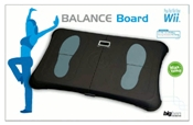bigben Wii Board schwarz Balance Board mit integrierter Waage