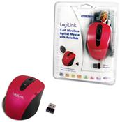 LogiLink Funkmaus pink