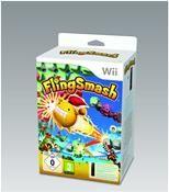 FlingSmash + Remote Plus schwarz für Wii und Wii U eisetzbar,