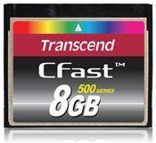 Transcend Compact Flash CFast 8GB