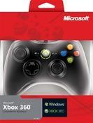 Microsoft Xbox 360/PC Controller schwarz für PC und Xbox 360,