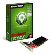 PowerColor Radeon HD5450 PCI 512MB DDR3