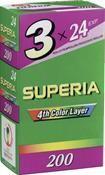 Fujifilm Superia 200 135/24 3 Stück