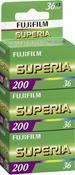 Fujifilm Superia 200 135/36 3 Stück   ,
