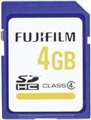 Fujifilm High Quality SDHC 4GB