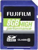 Fujifilm High Performance SDHC 8GB