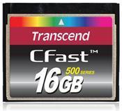 Transcend Compact Flash Karte 16GB     ,