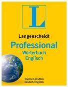 Langenscheidt Professional-Wörterbuch