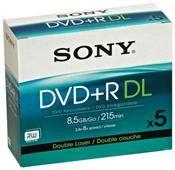 Sony DVD+R Double Layer 8.5GB 8x     ,