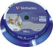Verbatim BD-R 25GB 6X  ,