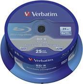 Verbatim BD-R SL LTH 25GB 6x ,