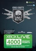 XBOX Live Points Card 4000 Punkte