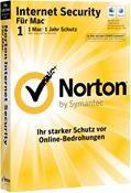 Symantec Norton Internet Security Mac5.0 MAC 1 User DE-Version