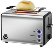 Unold Onyx kompakt Toaster edelstahl