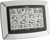 TFA Tempus Satelliten-Funk- Wetterstation silber