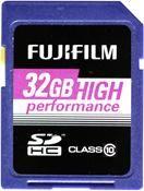 Fujifilm High Performance SDHC 32GB