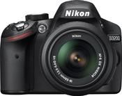 Nikon D3200 18-55 II Kit schwarz