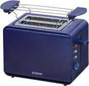 Bomann TA243CB Toaster blau