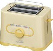 Bomann TA1543CB Toaster gelb