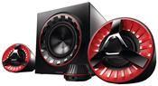 Philips SPA7380/12 schwarz/rot