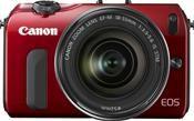 Canon EOS M Kit EF-M 18-55mm inkl. SpeedLite 90EX rot