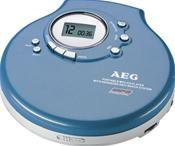 AEG CDP 4212 MP3 blau