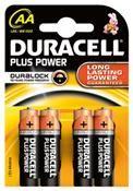 Duracell Plus Power MN 1500 AA Mignon 4 Stück