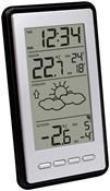 Technoline WS9130 Wetterstation silber/schwarz