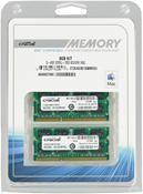 Crucial 8GB DDR3 SO-DIMM Kit  ,