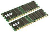Crucial 1GB DDR Kit     ,