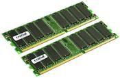Crucial 2GB DDR Kit    ,