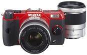 Pentax Q10 5-15mm + 15-45mm Kit rot