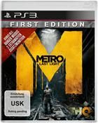 Metro Last Light - First Edition 100% uncut für Sony PS3,