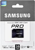 Samsung Pro SDHC 16GB