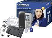 Olympus DS-2500 Office Starter Kit silber,