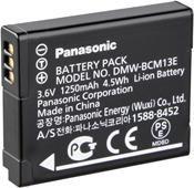 Panasonic DMW-BCM13E Akku für TZ-Reihe  ,