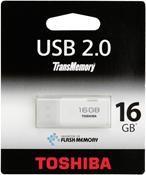 Toshiba TransMemory Hayabusa 16GB weiß
