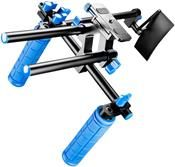 Walimex pro DSLR Rig Hand Schulter Stativ mit Doppelgriff