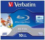 Verbatim BD-R 50GB 6x 10er Pack