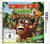 Donkey Kong Country Returns 3D Nintendo 3DS Deutsche Version