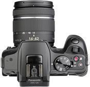 Panasonic Lumix DMC-G6W Kit 14-42mm / 45-150mm schwarz