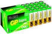 GP Super Alkaline LR06 Größe AA 40er Pack