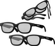 Toshiba FPT-Multi-Set Polarisationsbrille schwarz,