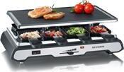 Severin RG 2685 Raclette-Grill edelstahl/schwarz
