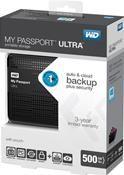 WD MyPassport Ultra 500GB schwarz