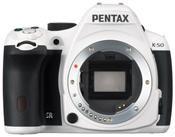 Pentax K50 Body weiß