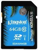 Kingston SDA10 Ultimate SDXC 64GB