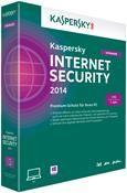 Kaspersky Internet Security 2014 Upgrade 1 User 1 Jahr Mini-Box,