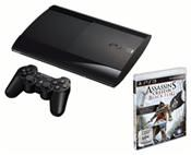 Sony PlayStation 3 500 GB inkl. Assassin´s Creed 4: Black Flag