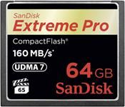 SanDisk Compact Flash Extreme Pro SDCFXPS-064G-X46 64GB